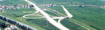 San Michele interchange - Image of the S.Michele-Mezzocorona interchange north of Trento