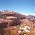 L'autostrada si arrampica - La salita tra Vipiteno e Colle Isarco con pendenza media del 4%