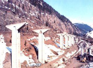 Realizzazione pile - Pile a sezione alleggerita con altezza sino a 65 m