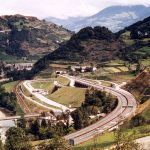 Chiusa Exit- Exit showing an innovative layout in the narrow Eisack valley