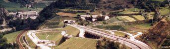 Uscita a Chiusa - Uscita realizzata con un innovativo tracciato nella stretta valle dell'Isarco