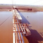 Varo travi - Launching bridge without centres and temporary supports