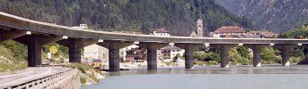Ponte sul lago di Fortezza